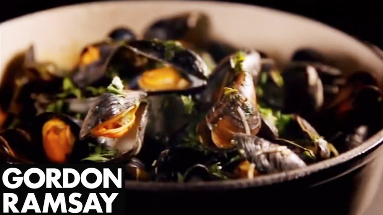 Mussels with Celery and Chilli - Gordon Ramsay - BurnerAlert