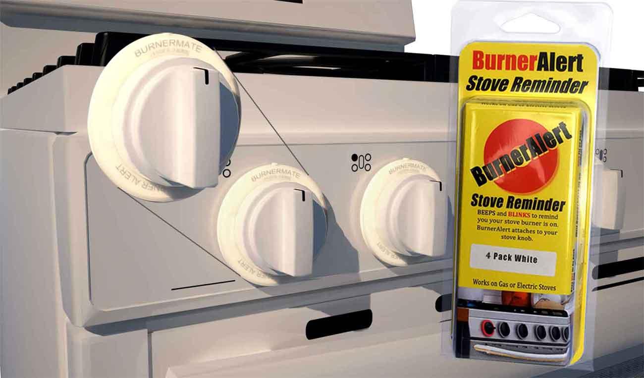 BurnerAlert Rated #1 Best Stove Reminder, Alarm,Sensor